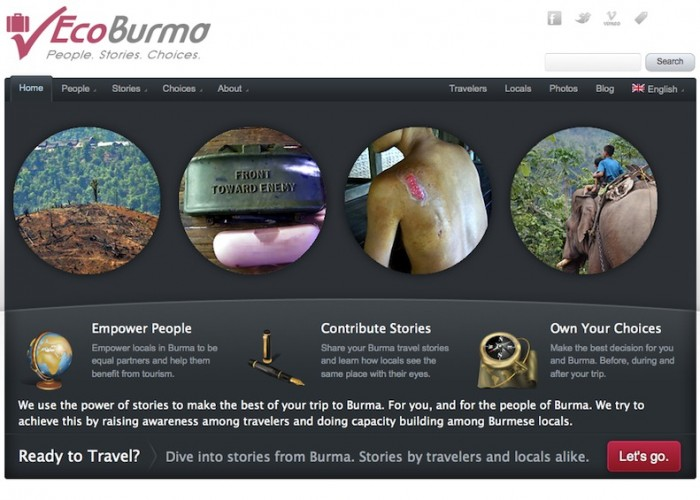 "Website ""EcoBurma"""
