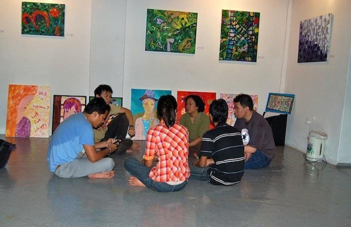 Workshop in Yangon