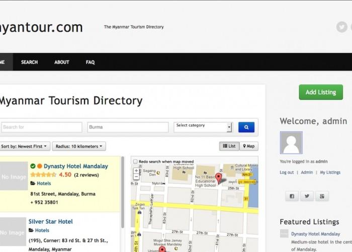 Myanmar Tourism Directory
